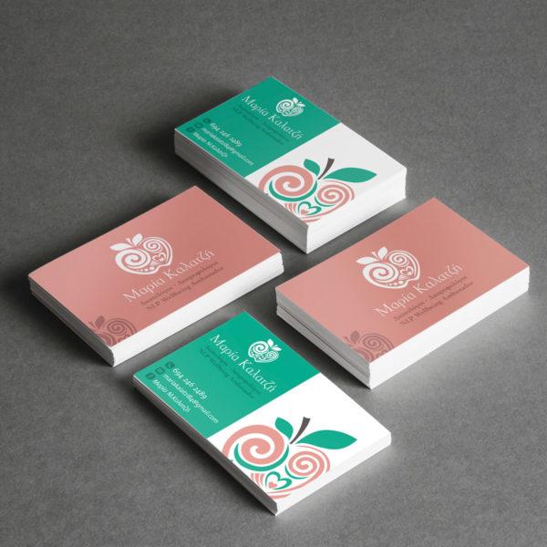 Επαγγελματικες καρτες design spirit